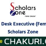 Front Desk Executive (Female) - Scholars Zone